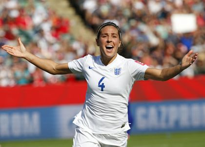 Fara Williams Celebrates