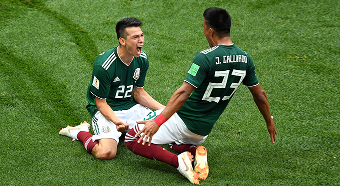 Mexico V Germany